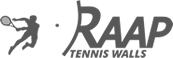 Unigrass Raap Tennis Walls logo