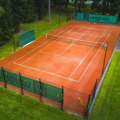 Tenniseväljaku kunstmuru kate Supersoft 10