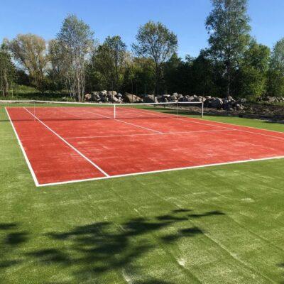 Tenniseväljaku kunstmuru kate Paddle Pro 15 perspektiiv